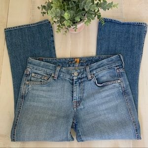 7 for All Mankind A Pocket Crop Jeans Size 27 👖